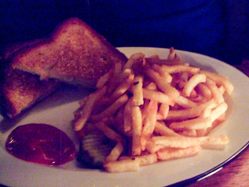 Grilled Cheese Sandwich with Apple Slices, Henry Public