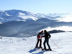 Skiing at Muntele Mic photo by  Eduard Wichner