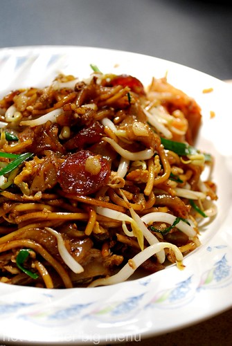 M'sian cooking - Char kuay teow