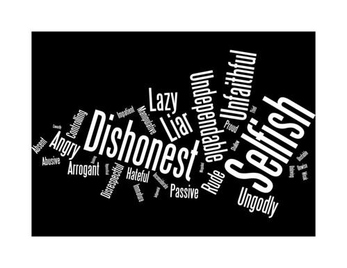 Negative Male Characteristics - 3