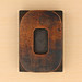wood type letter O