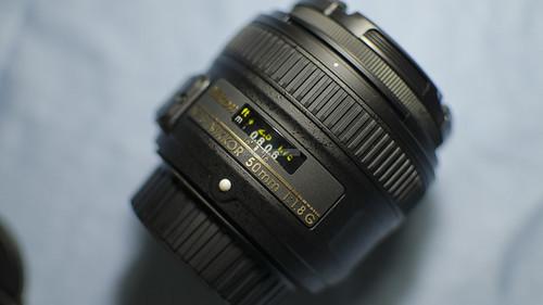 Nikon 50mm f 1.8 G