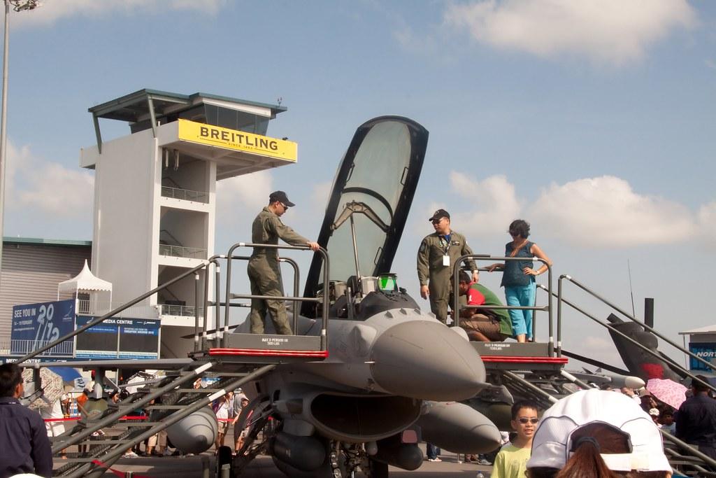RSAF F-16 Display