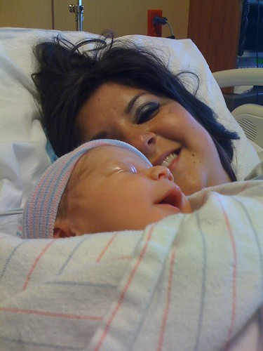 Mommy and June Jett