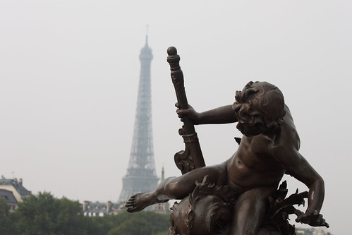 The Eiffel Tower from Pont Alexandre III