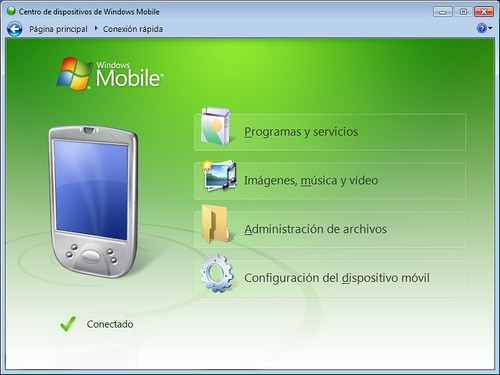 Windows Mobile Device Center 6.1