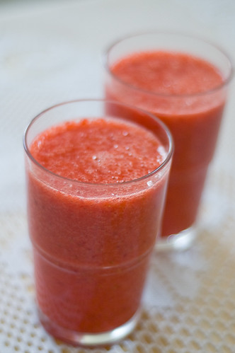 Homemade Strawberry Juice