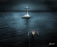 Sunken Cemetery, Camiguin, Philippines photo by Tomasito.!