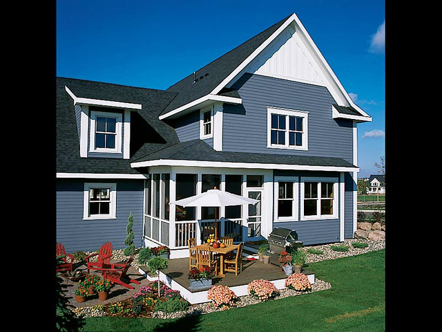 Farmhouse Plans: Front Porch Houseplans, Simple Country Home