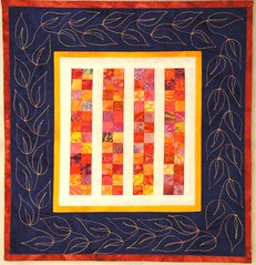 """Heat Wave"" mini quilt photo by TerrieSandelin"