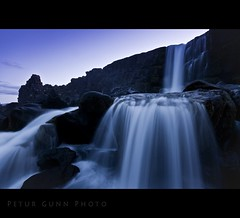 Öxarárfoss photo by Pétur Gunn Photograpphy