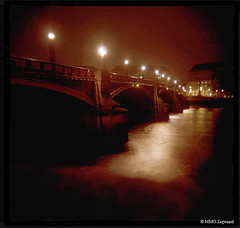 London ~ Holga photo by Martino Zegwaard