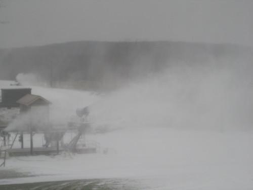 First Snowmaking 09-10 021