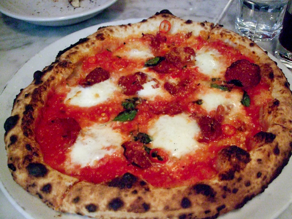 Soppressata Picante Pizza, Motorino
