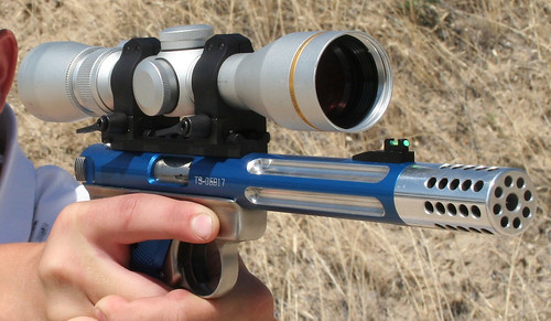Tactical Solutions Blue scope Hayden right side front blow up