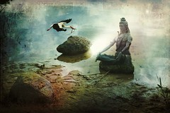 Shiva Meditation photo by Mara ~earth light~