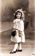 Vintage Postcard ~ photo by chicks57