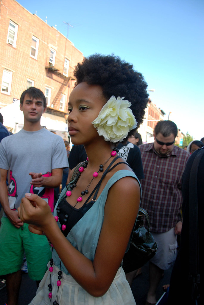 Flower in her Hair, Atlantic Antic Brooklyn