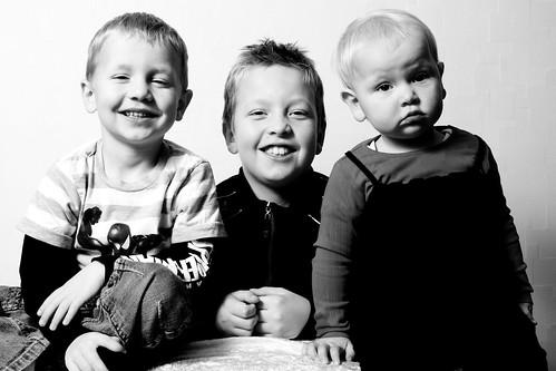 Min søsters børn, julen 2009 - 3