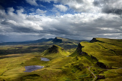 The Quiraing, Skye, Scotland photo by KF 红相机