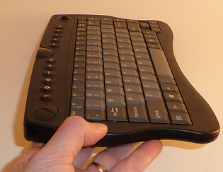 Vidabox Keyboard Side Profile