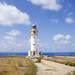 Formentera - lighthouse clouds faro island cabo ni