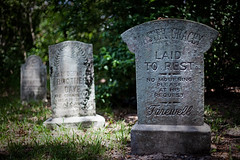 Magic Kingdom - Disappearing Gravestones photo by Cory Disbrow