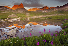 Upper Ice Lake Basin - San Juan Mountain Silverton, Colorado photo by Lightvision [光視覺]