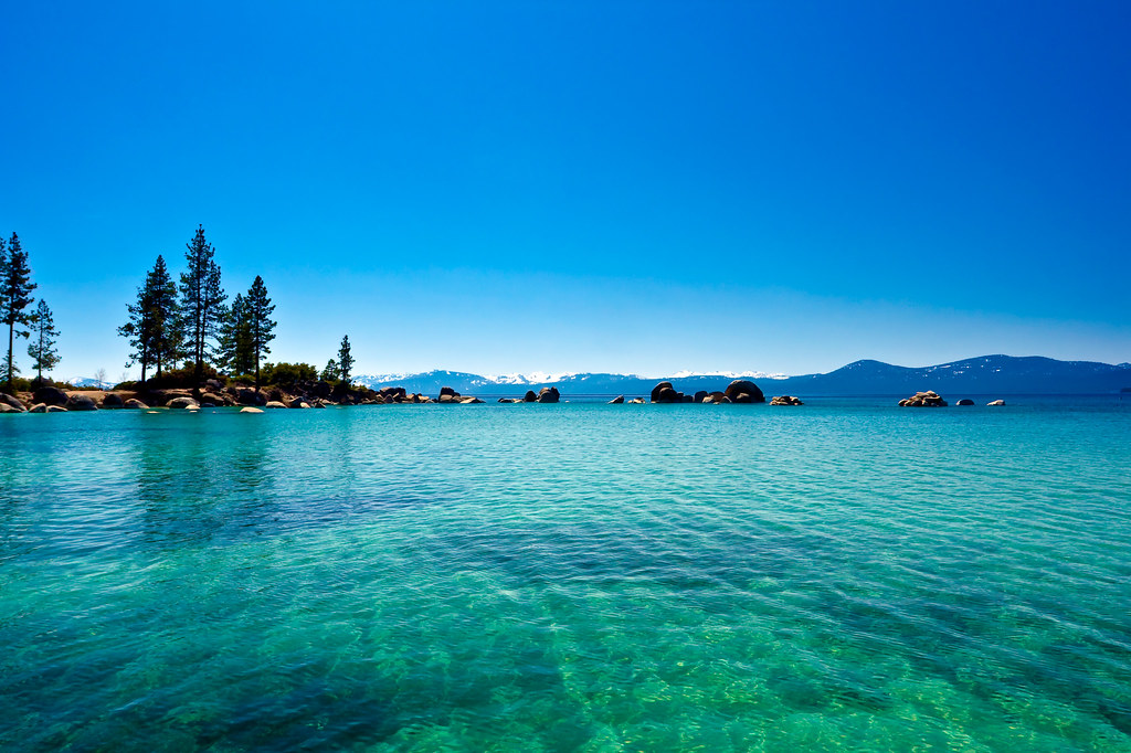 Lake Tahoe Colors