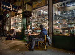 Village Chess Shop photo by Oliver Fluck