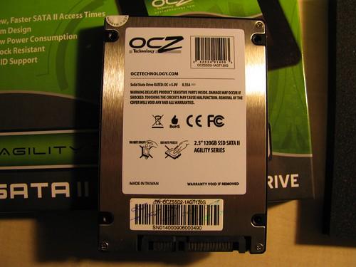 OCZ SSD 120 GB Agility