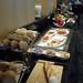 럭셔리룸의 아침 식사