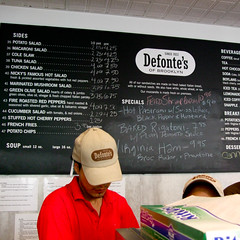 Defonte's of Brooklyn - Lunch Counter