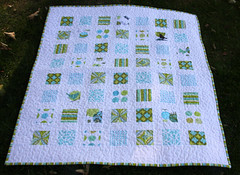Gabriel's baby quilt photo by hollybroadland