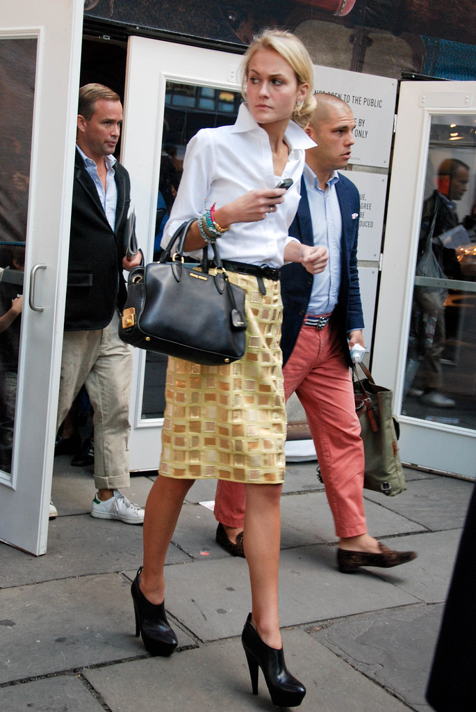 Yellow Skirt, Diane von Furstenberg