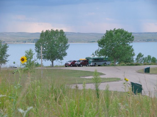 Lake McConaughy campsite