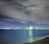 Spotlights Over Toronto