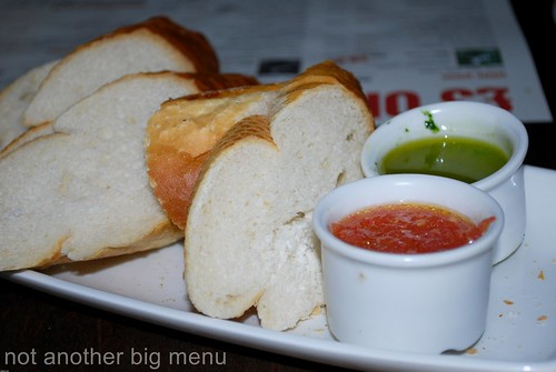 La Tasca - Pan de Barra £2.25 (Fresh bread served with an extra-virgin olive oil and balsamic vinegar dip)