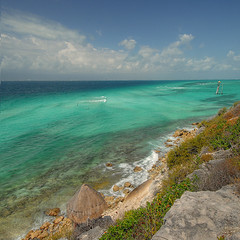 Isla Mujeres@Mexico photo by rinogas