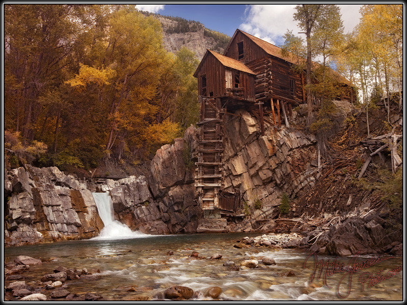 Crystal Mill photo by MikeJonesPhoto