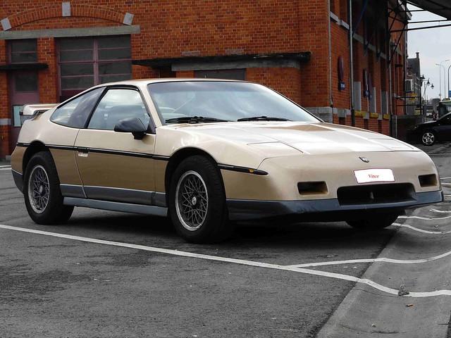 1988 Pontiac Fiero Gt. 1988 Pontiac Fiero GT 2.8 V6