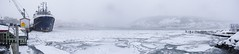 Winter Harbour Panoramic