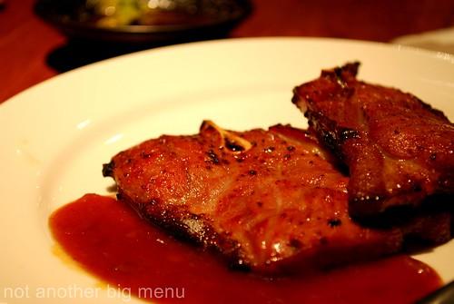 Jogoya, KL - Grilled lamb chops