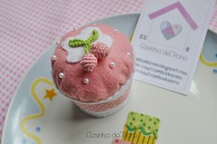 Cupcake photo by Casinha de Pano
