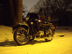 ural in snow