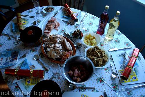 Christmas meal 6