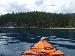 Kayaking in Emerald Bay