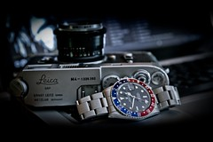 Rolex 16750 and Leica M4 photo by Nork9