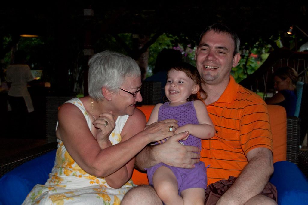 Me, Lily and Grandma