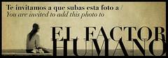 Invited to/Invitada a El Factor Humano